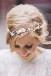wedding photo - Floral Hair Crowns