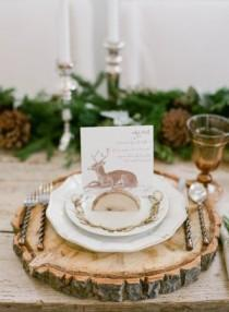 wedding photo - Winter Wedding Inspiration