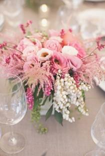 wedding photo - Pink Wedding Details & Decor