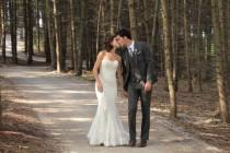 wedding photo - A Simple, Rustic Wedding in Tottenham, Ontario