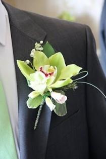 wedding photo - Wedding Boutonnières