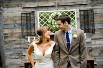 wedding photo - Country Music Singer Emily Hearn DIY Chic Rustic Country Wedding