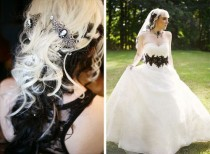 wedding photo - Chloe & Rudy's Chic Goth Historic Mansion Wedding