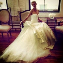 wedding photo - Sleeveless Wedding Dress ...