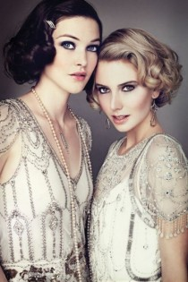wedding photo - Great Gatsby Wedding Makeup ...