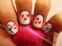 wedding photo - Valentines Day Nails