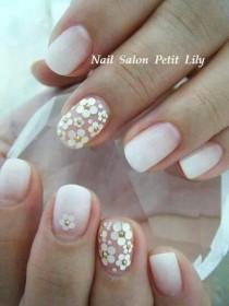 wedding photo - Flower Nails