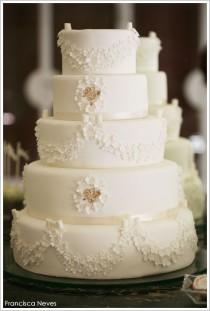 wedding photo - الأبيض والذهب الأميرة حلويات الجدول