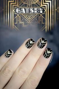 wedding photo - The Great Gatsby Nails