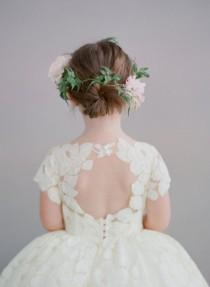 wedding photo - وانابيل زهرة فتاة باللباس