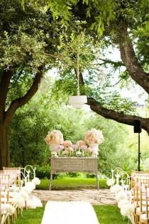 wedding photo - Wedding GARDEN & BACKYARD GARDEN