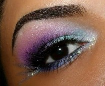 wedding photo - Eye Makeup Eyeshadow:  #Fairytale #Eyes.