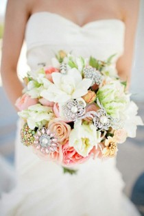 wedding photo - Wedding Bouquets BROOCH