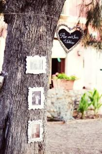wedding photo - Rustic Wedding Decoration