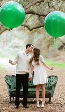 wedding photo - Изумруд #coloroftheyear