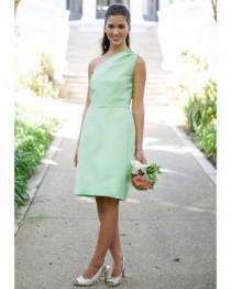wedding photo - قصيرة النعناع الأخضر اللباس بواسطة آنا إليز