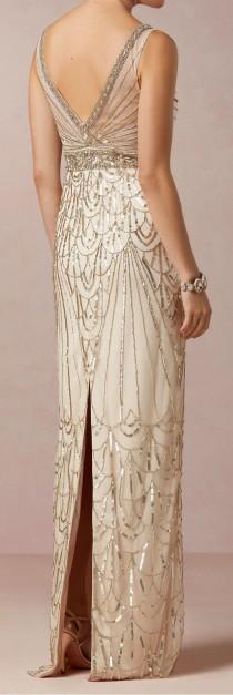wedding photo - Art Deco Gown