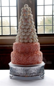 wedding photo - Gâteau de mariage coloré