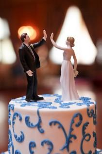 wedding photo - ما المرح كعكة توبر!