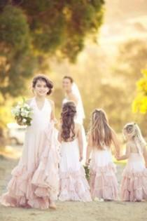 wedding photo - Flower Girls & Petits Garçons