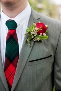 wedding photo - Idées pour le mariage de fête de Noël
