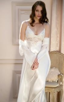 5af3b5d30e Jonquil Peignoir Set. See more about wedding ...