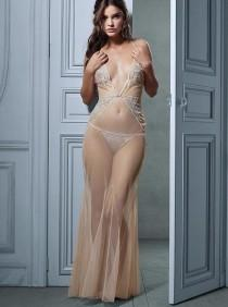 wedding photo - Barbara Palvin robe de lingerie