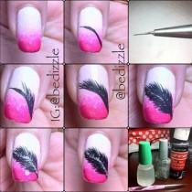 wedding photo - DIY Nails Art: DIY Nails Art