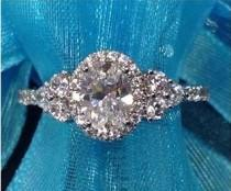 wedding photo - Oval Diamond Ring