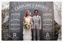 wedding photo - Unique Wedding Backdrop.