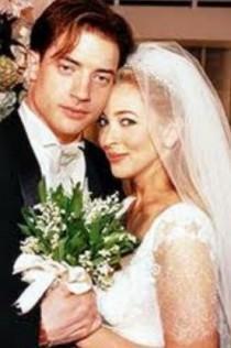 wedding photo - Brendan Fraser And Afton Smith