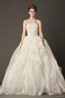 wedding photo - Vera Wang Bridal Kollektion Herbst 2013