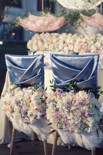 wedding photo - Tablescape ● كرسي ديكور
