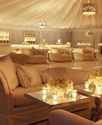 wedding photo - An All-White Lounge