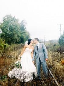 wedding photo - Rustic Virginia Wedding