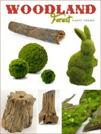 wedding photo - Woodland Forest Party Theme - Part 1 {Woodsy Elements & Toadstools