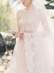 wedding photo - الرباط شير المشذبة مانتيا الحجاب