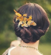 wedding photo - Butterfly Comb -  Bridal Hair