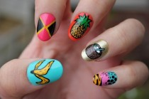 wedding photo - 10 Healthy Fruit Nail Art Designs