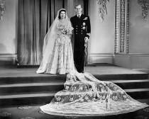 wedding photo - Queen Elizabeth II