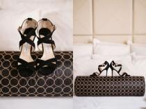 wedding photo - Classic Black/White Wedding