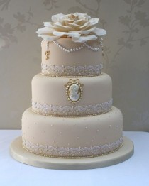 wedding photo - Detaillierte Kuchen.