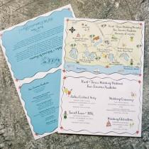 wedding photo - Тропический Приглашения И Канцелярских Товаров