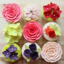 wedding photo - Garden cupcakes perfect for every occasion