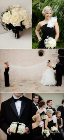 wedding photo - Black And White Wedding Inspiration