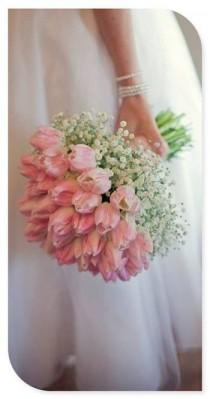 wedding photo - Wedding Theme with Pink and white-colored blossoms.
