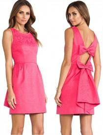 wedding photo - ERIN Erin Fetherston Winnie Dress In Vibrant Fuchsia