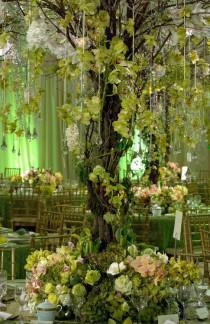 wedding photo - Зеленый Глэм-Престон Бэйли