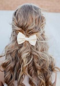 wedding photo - Peinados largos para novias primavera 2014
