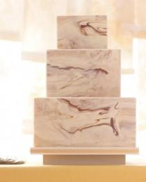 wedding photo - Gâteaux de mariage moderne